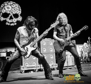 The Dead Daisies - Photo by Katarina Benzova - Bass and Git - The Clothesline