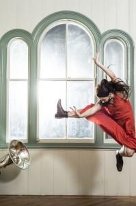 Rotunda Red - NZ Dance Company - Image by John McDermott - The Clothesline