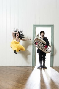 Rotunda Yellow Brass - NZ Dance Company - Image by John McDermott - The Clothesline