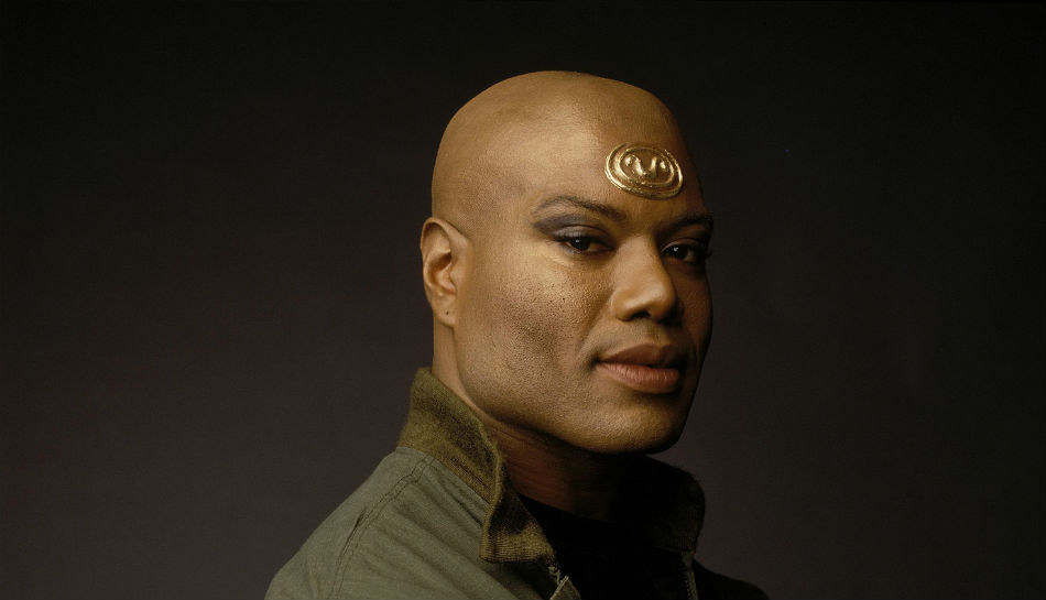 Christopher judge stargate sg1 s enigmatic teal c appears at supanova