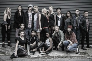 Rent Cast - Marie Clark Musical Theatre Company - The Clothesline