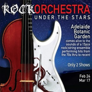 Rock Orchestra Under The Stars sq - Adelaide Fringe 2017 - The Clothesline