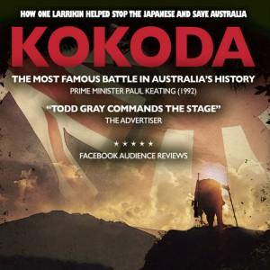 Kokoda poster - ADLfringe - The Clothesline