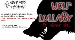 Wolf Lullaby - Oily Rag Theatre - Holden Street Theatres - The Clothesline