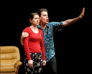 Perplex cast 2 - Image by Michael Errey -  Joh Hartog Productions - Bakehouse Theatre - The Clothesline