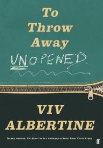To Throw Away Unopened - Viv Albertine - Faber - Allen & Unwin - The Clothesline