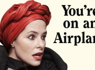 YOU'RE ON AN AIRPLANE: A SELF-MYTHOLOGIZING MEMOIR by Parker Posey: Strike A Pose(y) ~ Book Review
