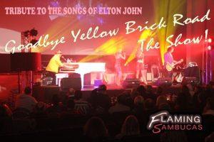 The Flaming Sambucas - Elton Show Live Shot sm - KMPR - The Clothesline