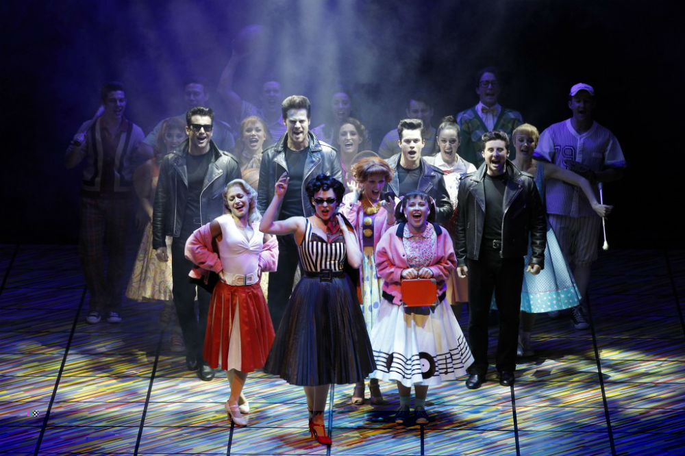 Grease Australia Full Cast - image by Jeff Busby - The Clothesline