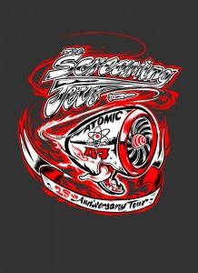 Screaming Jets Tour Logo - The Gov - The Clothesline