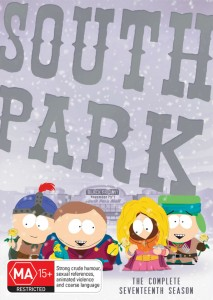South Park DVD - The Complete Seventeenth Season - Paramount - The Clothesline