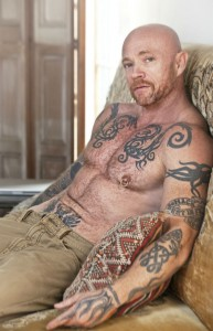 Buck Angel On Couch - Feast Festival - The Clothesline