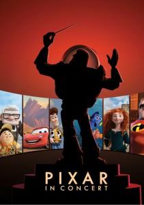 Pixar in Concert Poster - ASO - The Clothelsine