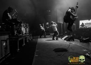 The Dead Daisies Jump - photo by Katarina Benzova - The Clothesline