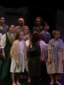 Amahl Cast - Space Theatre - The Clothesline