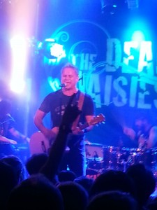 Jon Stevens The Dead Daisies at The Gov - Photo © Catherine Blanch