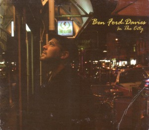 Ben Ford-Davies - In the City CD Cover - The Clothesline