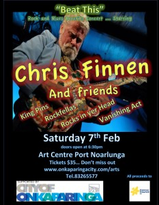 Chris Finnen Cancer Fundraiser Poster - The Clothesline