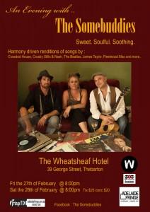 The SomeBuddies Poster - Adelaide Fringe 2015 - The Clothesline