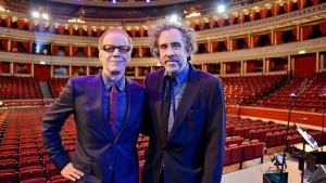 Danny Elfman and Tim Burton - Image by Paul Sanders - Adelaide Festival 2015 - The Clothesline