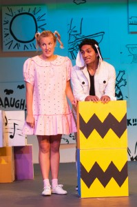 Charlie Brown Snoopy and Sally  - Hills Musical Company - The Clothesline