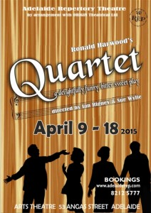 Quartet Poster - ARTS Theatre - The Clothesline