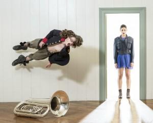 Rotunda Blue - NZ Dance Company - Image by John McDermott - The Clothesline