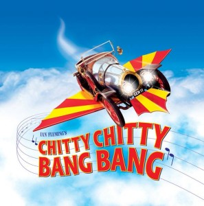 Chitty Chitty Bang Bang Poster - Pelican Productions - The Clothesline