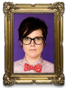 Hannah Gadsby Frame  - Art Lite - Adelaide Cabaret Festival - The Clothesline