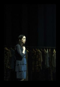 Alison Bell in Betrayal - Image ©Shane Reid - The Clothesline