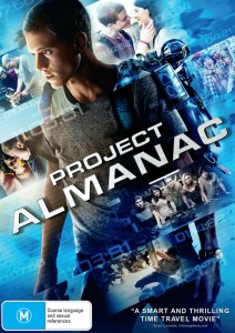 Project Almanac DVD Cover - Paramount - The Clothesline
