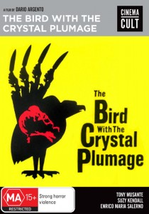 The Bird With The Crystal Plumage - Shock DVD - The Clothesline