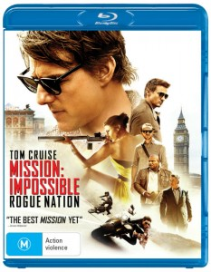 Mission Impossible - Rogue Nation DVD - Paramount - The Clothesline
