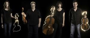 Zephyr Quartet - Between Light - Image by Sam Oster - The Clothesline