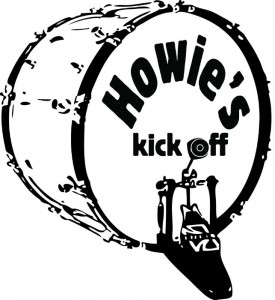 Howie's Kick Off logo Hero Image - Shiny Head Productions