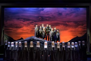 The Sound Of Music cast small - Image by James Morgan - AdFestCent - The Clothesline