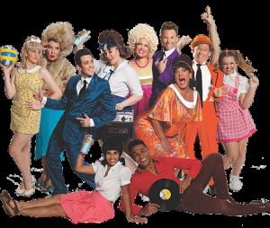 Hairspray Big Fat Arena Spectacular Cast - Harvest Rain TC - The Clothesline