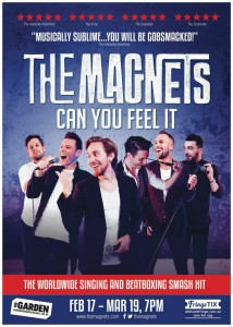 The Magnets Poster med - Can You Feel It - GOUD - Adelaide Fringe 2017 - The Clothesline