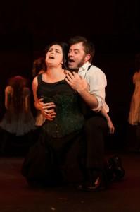 Jekyll & Hyde leads - Image by Daniel Salmond - Marie Clark MTC - The Clothesline