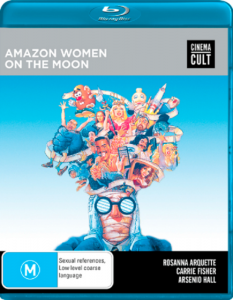 Amazon Women On The Moon - Shock DVD - The Clothesline