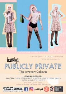 Publicly Private poster - Frankly - Nicole O'Rielley - ADLfringe - The Clothesline