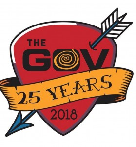 THE GOV 25 YEARS LOGO