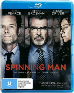 Spinning Man DVD - Defiant Screen Entertainment - The Clothesline