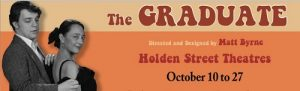 The Graduate Banner sm - MBM - Holden St Theatres - The Clothesline