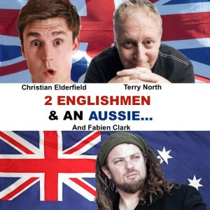 2 Englishmen And An Aussie - Terry North - ADLfringe - The Clothesline