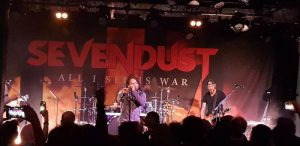 Sevendust 2 - The Gov - Image by Luke Balzan - The Clothesline