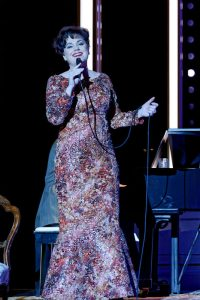 Helen Dallimore as Judy Garland - End of The Rainbow - Image by Chris Herzfeld - STC - AdCabFest19 - The Clothesline