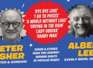 Peter Asher & Albert Lee Perform The Songs Of The Everly Brothers, Buddy Holly, Peter & Gordon And More… @ Trinity Sessions ~ Media Release