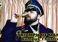 Triumph Of Man: A Comedy In Two Acts Presented By RUMPUS Theatre ~ Review